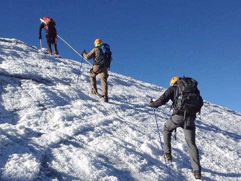 Nevado Santa Isabel Glacier