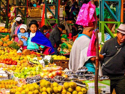Indigenous Market in Silvia Cauca
