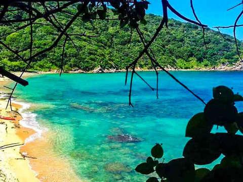 From Rodadero O Sta Marta: Parque Tayrona Playa Cristal