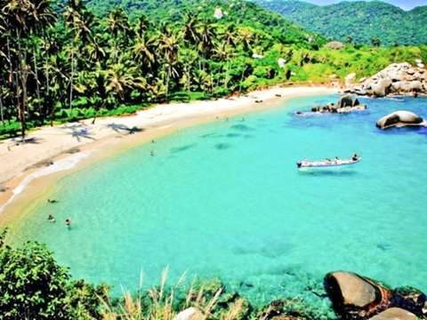 From Santa Marta to Tayrona Park by Private Boat