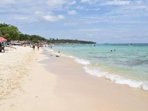 Tranquilidad del Mar en Playa Blanca