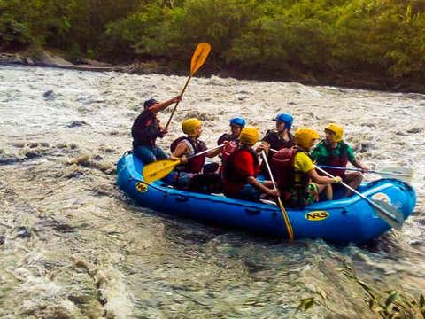 Rafting from Bogota